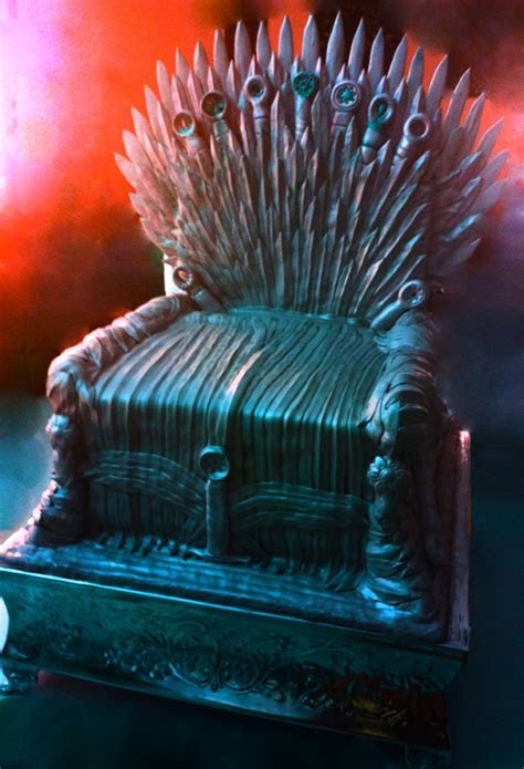 Iron Throne Cake   CakeCentral.com