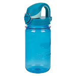 Nalgene On the Fly Water Bottle Kids Blue with Glacial Cap