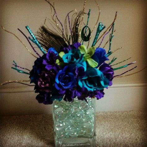 Best 25  Peacock centerpieces ideas on Pinterest   Peacock