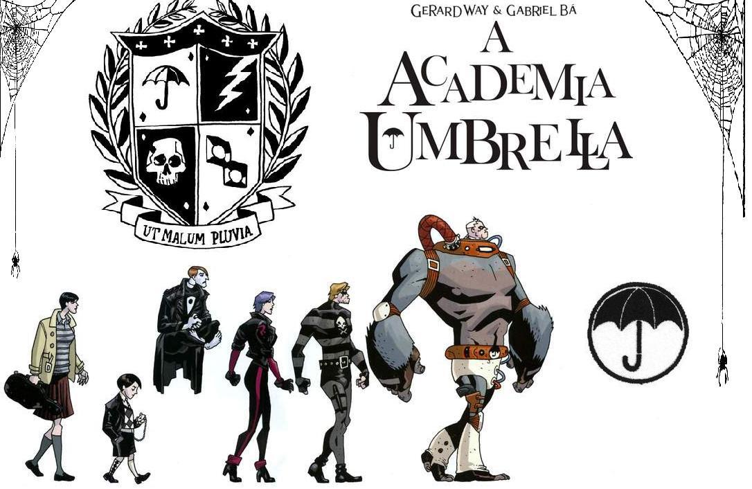 Resultado de imagem para The Umbrella Academy serie