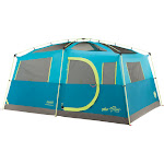 Coleman 8-Person Tenaya Lake Fast Pitch Cabin Tent with Closet, Blue