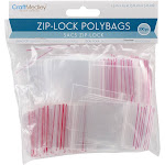 "Ziplock Polybags 200-pkg-1.5""x1.5"" Clear"