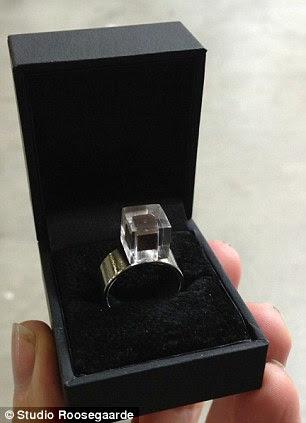 Otro prototipo Muestra Una version Más fornido del anillo
