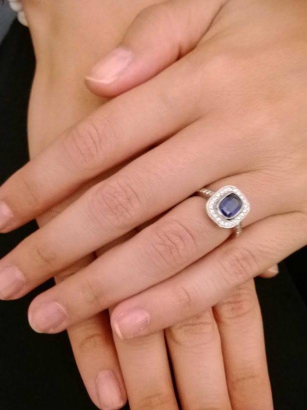 Kimberly Wyatt shows off engagement ring, after announcing engagement to Max Rogers.