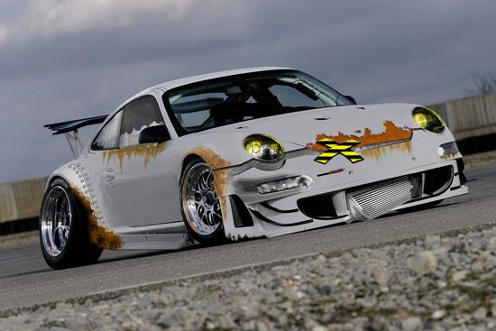 Porsche 911 Gt3 Rsr. Fake Porsche GT3 RSR