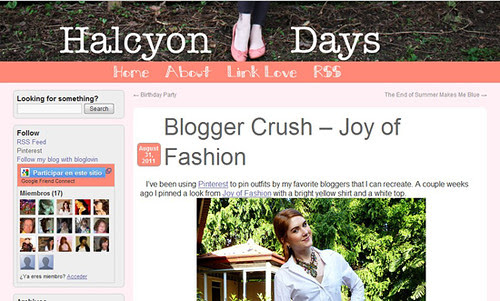 09 Sept 01 - Featured on Halcyon Days