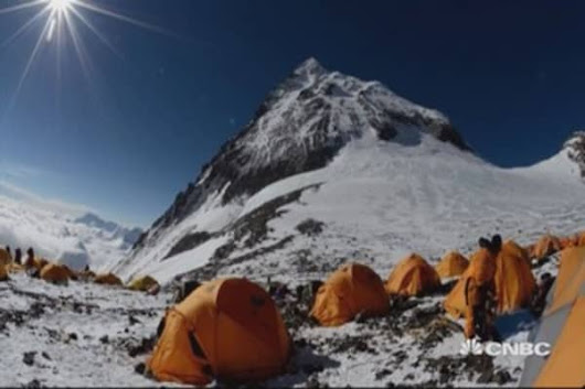 Dangers and economics of Mount Everest