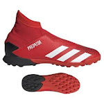 adidas Kids Youth Predator 20.3 Laceless Turf Soccer Shoes
