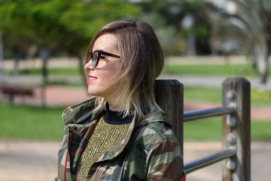 Model off duty: Army chic - Oh mai blog by Omaira