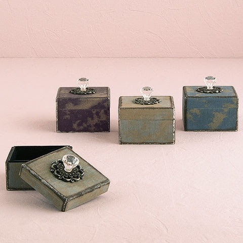 Vintage Wedding Favor Boxes