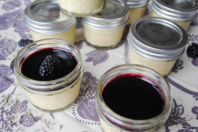 lavender custard