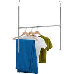 Honey Can Do Adjustable Hanging Closet Rod / Chrome