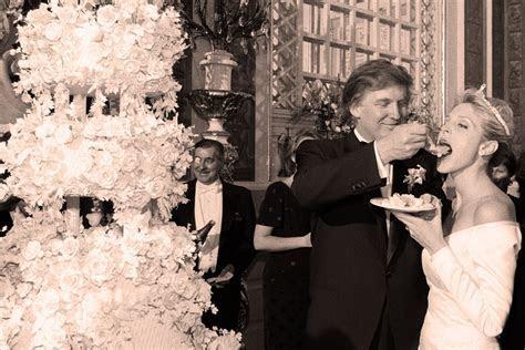 Tubs Of Caviar at Donald Trump?s Wedding