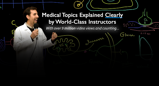 MedCram - Best Medical Lectures and Medical Videos, CME, CE