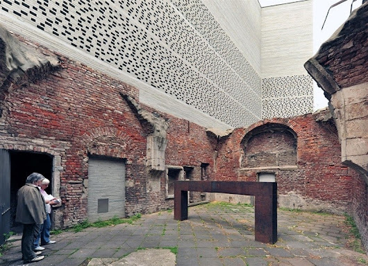 Revitalization of the ruined St. Kolumba church into a modern museum in Cologne