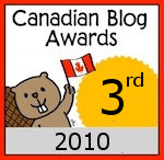 Canadian Blog Awards 2010