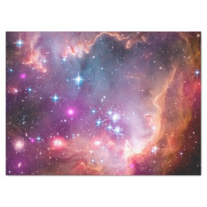 Small Magellanic Cloud Tissue Paper