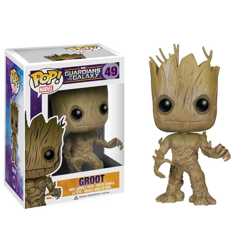 Funko POP! Guardians of the Galaxy Movie - Vinyl Bobble - GROOT