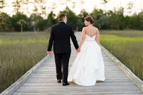 Wedding in downtown Charleston and Daniel Island Club