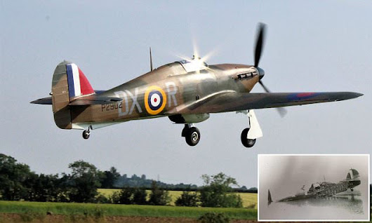 Hurricane jet takes to the skies after £2m restoration