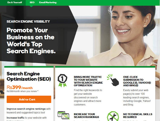 imdad_ali : I will perform SEO for your godaddy Website for $30 on www.fiverr.com