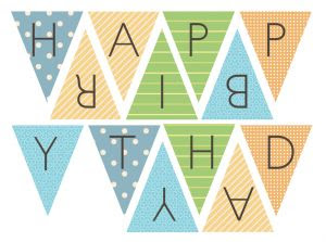 FREE printable happy birthday banner   BirThdaY printables and DIY ...
