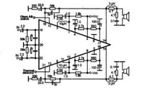 Усилитель звука на микросхеме STK426-530