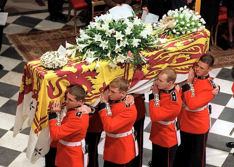 princess diana funeral william and harry. Diana, Princess of Wales,
