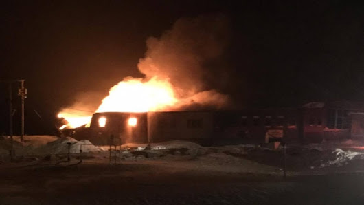 Residents 'devastated' after fire destroys only school in Kugaaruk, Nunavut