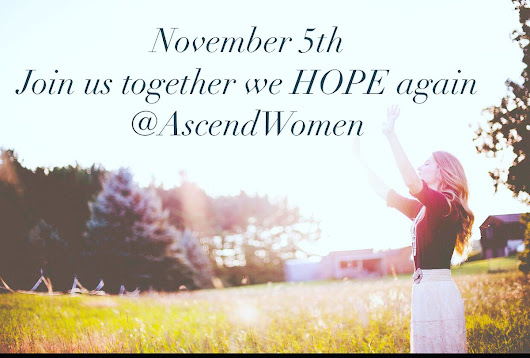 "Ascend Conference on Twitter: ""Need hope? Be #hope filled #Nov 5th @belairpres women from across the country  #speakers @isik_abla  @StarParker Register @AscendWomen.org """