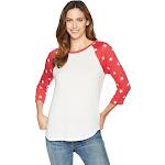 Alternative Eco Jersey Raglan Baseball Women's Clothing Eco Ivory/True : XS