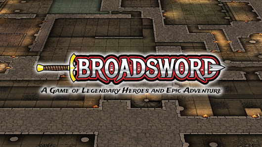 Broadsword: A Game of Legendary Heroes and Epic Adventure
