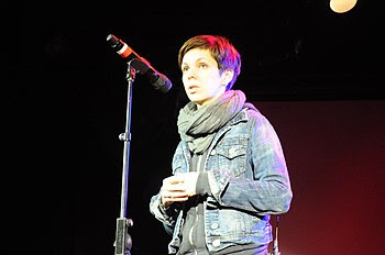 English: Natalia Koliada in New York City. Jan...