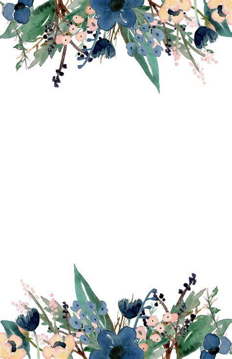 Blue Free Printable Invitation Templates   Paper Trail Design