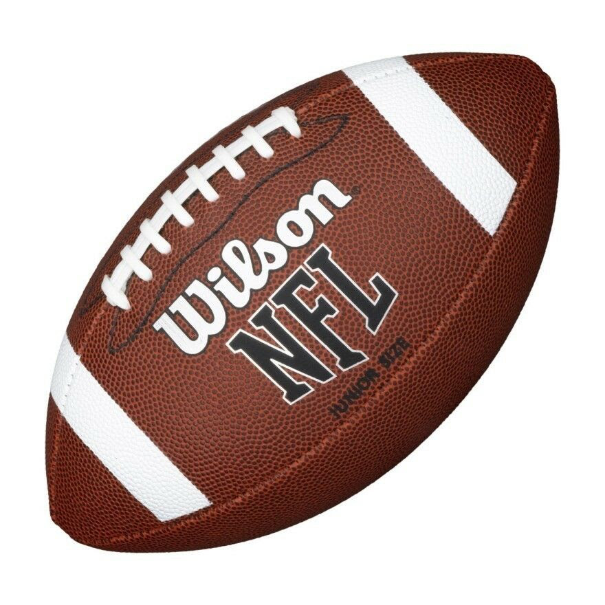 WILSON NFL BIN BALL JNR, JUNIOR SIZE AMERICAN FOOTBALL  eBay