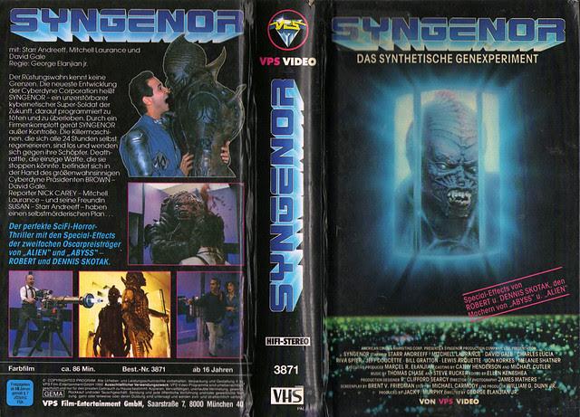 Syngenor (VHS Box Art)