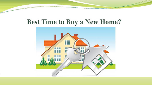 Best time to buy a new home
