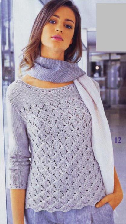 красивая одежда для девушек схемы кофточек