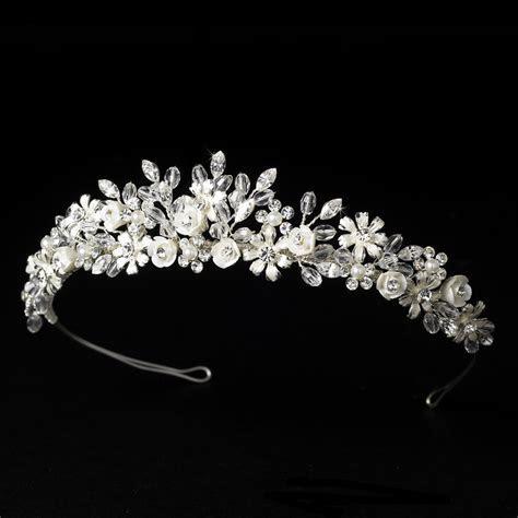 Ivory Bridal Tiara HP 4429