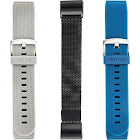 WITHit - Band Kit for Fitbit Charge 2 (3-Pack) - Gray/Black/Navy