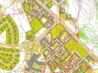Map from Elitserien Sprint in Falun