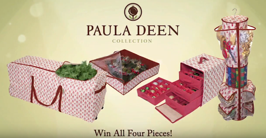 Paula Deen Holiday Giveaway by Jokari | Full Collection & Personalized Autographed Photo!