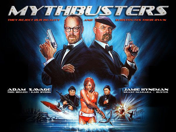 MythBusters James Bond Special