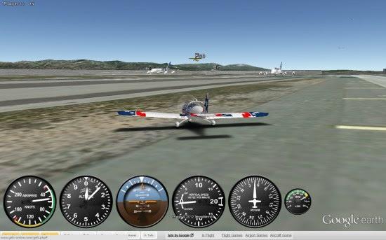 Flight Simulator Google
