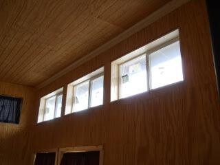 Kitchen Upper Windows Inside Sills