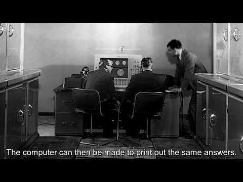 "I've re-recorded Alan Turing's ""Can Computers Think?"" radio broadcasts"