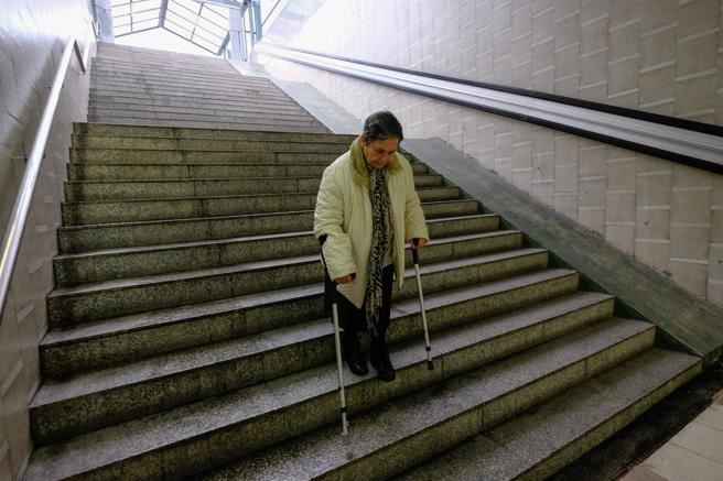 Estació n RENFE Bellvitge , pendiente de obras para mejorar la accesibilidad