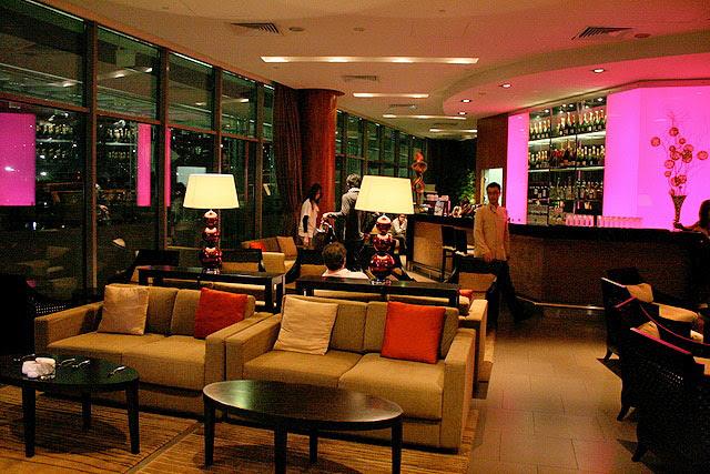 Upper floor VIP Lounge for dessert
