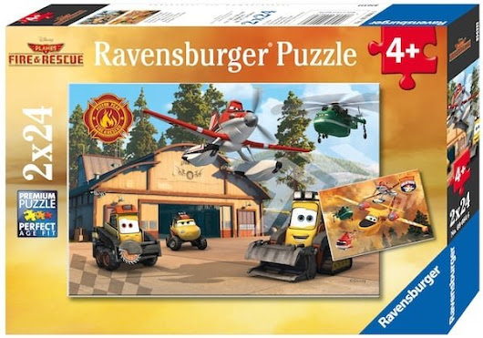 Disney Planes Fire & Rescue Ravensburger Puzzle Reader Giveaway - Jinxy Kids