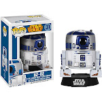 Funko Pop Lucas Films Star Wars R2-D2 Vinyl Bobble Head, Multicolor